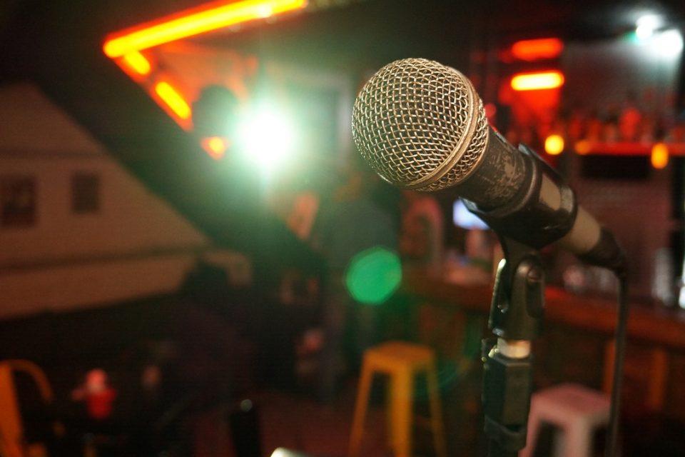 Mikrofon i kulturhus